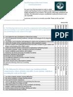 Questionnaire for Teachers
