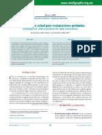 Protocolo Clínico Actual Para Restauraciones Profundas