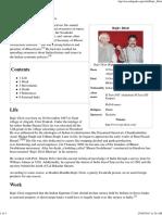 Rajiv Dixit - Wikipedia, The Free Encyclopedia