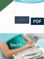 Sterilization  in orthodontics