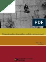 Mosaico de Sentidos Vida Cotidiana Conflicto y Violencia Social