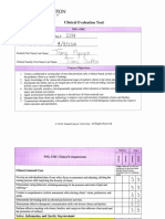 nsg434 clinical evaluation tool