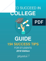 How to Succeed in College List