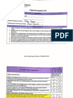 final clinical evaluation tool