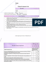 clinical evaluation tool 430