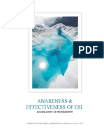 ESIC - AWARENESS & EFFECTIVENESS