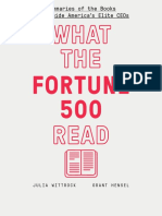 What the Fortune 500 Read