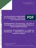 Las desconexiones interhemisféricas y los trastornos mentales - Javier Tirapu.pdf