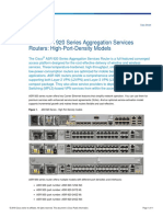 08. Cisco ASR 920 Series Aggregation Services Routers High-Port-Density Models Data Sheet