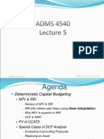 Lecture 5 Capital Budgeting4