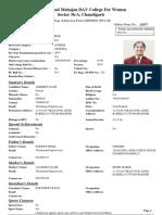 Mcm Admission Form