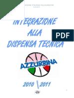Integrazione Tecnica Alla Dispensa Azzurrina1011