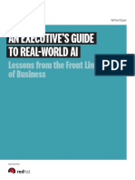 An Executives Guide to Real World Ai