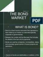 The Bond Market - for BSAIS
