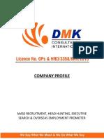 DMK Consultancy Profile