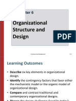6.Organizational Structure and Design