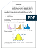 Descriptive Statistics MBA