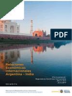Orei Serie 3 - Relaciones Económicas Internacionales Argentina - India