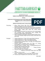 1. SK Kebijakan Perencanaan Program PMKP