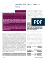 Interoperability Standard for Energy Meters
