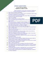 FAQs- ODI