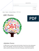 ABC Poems - Alphabet Poems