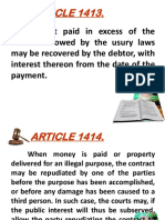 ARTICLE 1413-1430