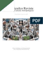 Cuicuilco. Revista de ciencias antropológicas, no. 72, ENAH, México, 2018.