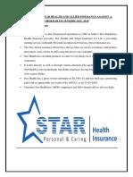 Star Health & Allied Insurance vs Chokkar