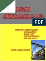 Elementos Meteorologicos Del Clima