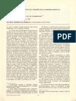 1981 - Mudaram as técnicas ou os terapeutas