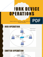 Network Device Operations