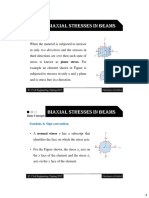 Biaxial Stresses