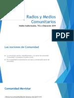 Radios y Medios Comunitarios