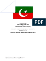 Insaf Labour Wing By-Laws 2019