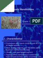 Aquatic Mandibulates Ch 19