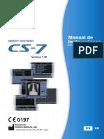 CS-7 Operation Manual v130 Spanish