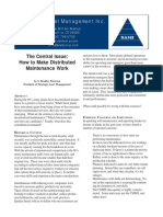 The Central Issue