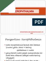 (K21) Xerophthalmia