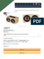 UrChoiceLtd Wireless Mini Wooden Stereo 4.0 Speaker, 10W Output Power 2200Mah Ba