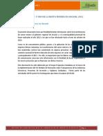 Distribución y Uso de La Renta Minera en Ancash, 2012