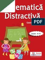Matematica Distractiva Clasele III-IV