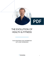 The Evolution of Health and Fitness Masterclass by Eric Edmeades Workbook July2019