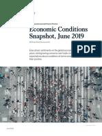 Economic condition 2019