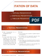 Lesson 2 Presentation of Data