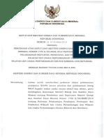 1563756421Kepmen ESDM Nomor 24 K 30 MEM 2019 Tentang Perubahan Pedoman Wilayah