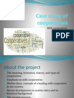 Case Study of Cooperatives