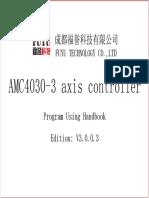 AMC4030-3 Axis Controller