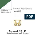 Honda Accord 1990 - 1993 Maint & Repair Manual.pdf