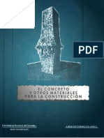 Información General de Materiales y Concretos